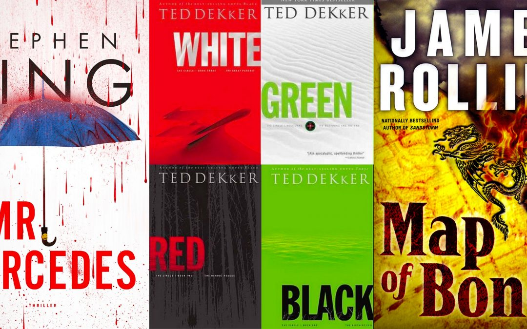 Stephen King + Ted Dekker + James Rollins = Happy Reader, Inspired Author!