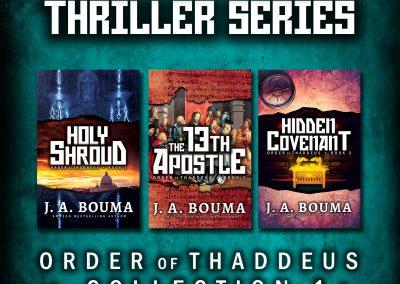 Silas Grey Religious Conspiracy Archaeological Thriller Series • Collection 1